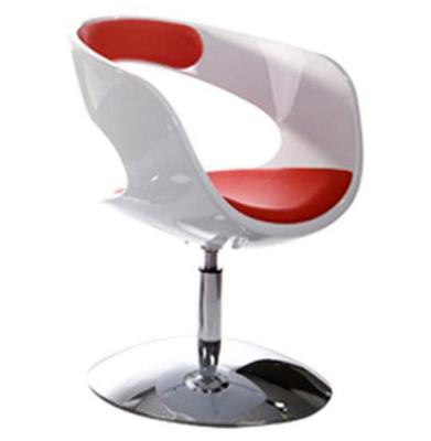 Eye Chair White Red