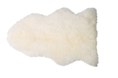 Shaun Sheepskin White -zuma design