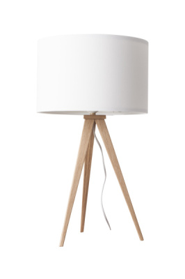 Tripod Wood Table Lamp -zuma design